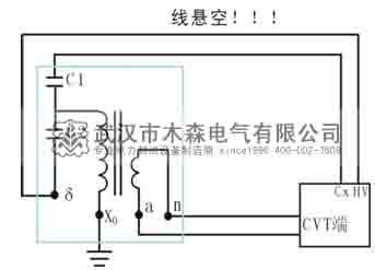 35kv电容式电压互感器的介损测量案例一