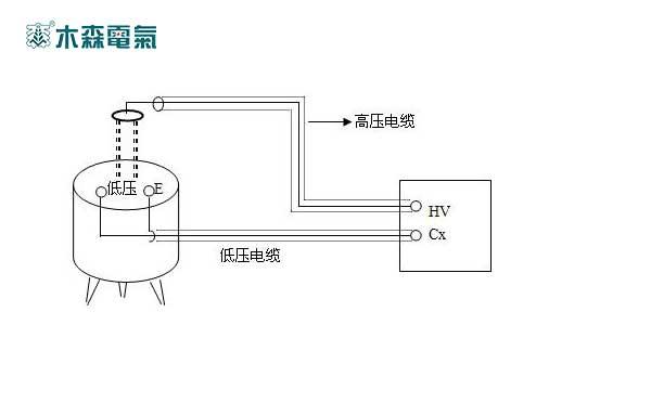 为标准电容器br16的标准接线方法