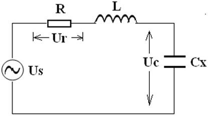 串联谐振等值电路图