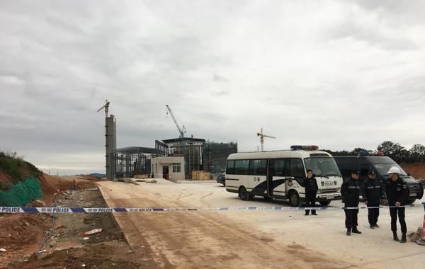 广州从化发电厂平台坍塌致9死