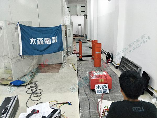农光互补发电厂电缆试验
