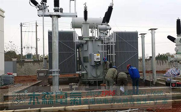 感应耐压带局放测量装置应城220kV试验